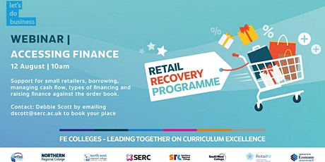 Retail Recovery Programme - Accessing Finance tickets