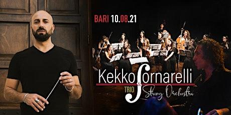 Kekko Fornarelli Trio & String Orchestra biglietti