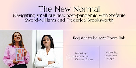 The New Normal: Navigating Small Business Post-pandemic tickets