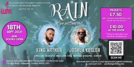 RAIN concert with King Arthur & Joshua Kesler tickets