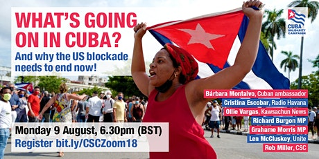 What's going on in Cuba? tickets