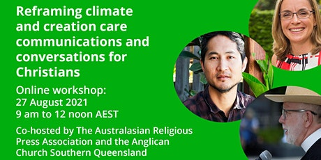 Reframing climate and creation care communications for Christians: workshop tickets