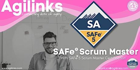 SAFe Scrum Master (Online/Zoom) Sept-30-Oct-01, Thu-Fri, Singapore (SGT) tickets