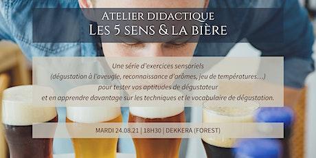 Belgium Beer Week -Atelier didactique : Les 5 sens et la bière tickets