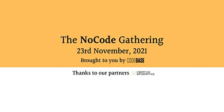 The NoCode Gathering tickets