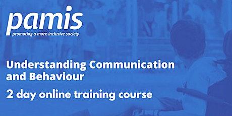 PAMIS Understanding Communication and Behaviour tickets
