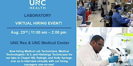 Virtual Hiring Event | Laboratory tickets