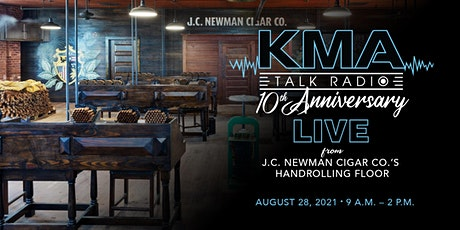 KMA Radio 10th Anniversary Show, LIVE from J.C. Newman Cigar Co. tickets