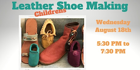 Childrens Leather Show Making tickets