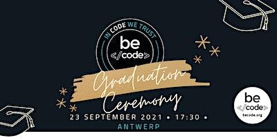 BeCode Antwerp – Graduation – 23-Sep-2021