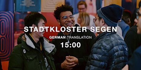 Sunday Service 15:00 - Stadtkloster Segen Tickets