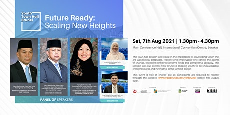 Youth Town Hall Brunei | Future Ready: Scaling New Heights tickets