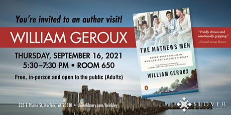Brinkley Family Memorial Lecture Series: William Geroux tickets