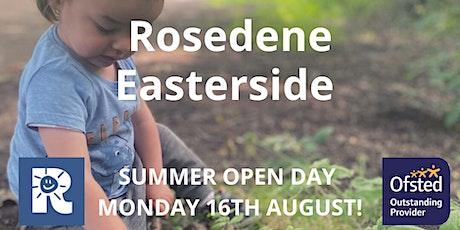 Rosedene Easterside Summer Open Day tickets