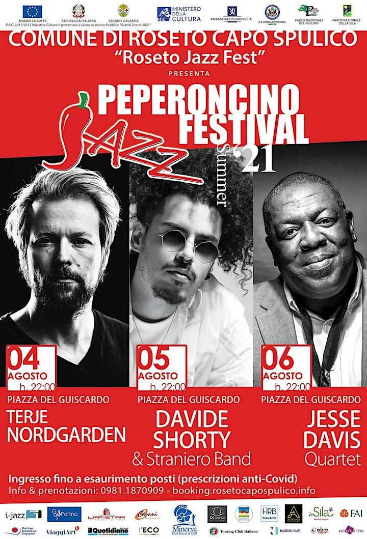Immagine JESSE DAVIS QUARTET with Peperoncino Jazz Festival