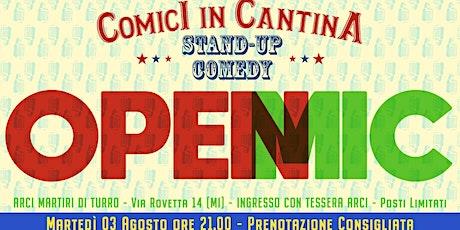 Comici in Cantina - Open Mic #15 biglietti