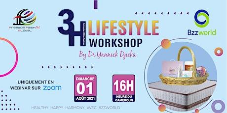 3H LIFESTYLE WORKSHOP WITH DR YANNICK billets