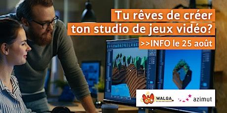 Crée ton propre studio de jeux vidéo ! billets