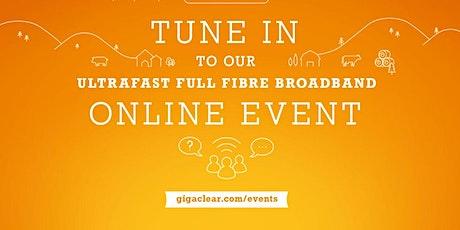 Enstone Community Event  - Online via Teams, Gigaclear Presentation tickets