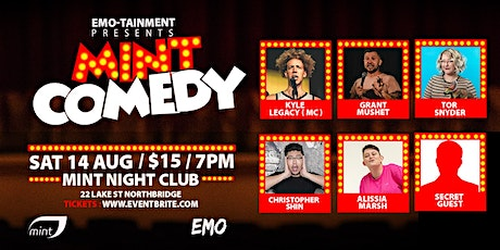 Mint Comedy tickets