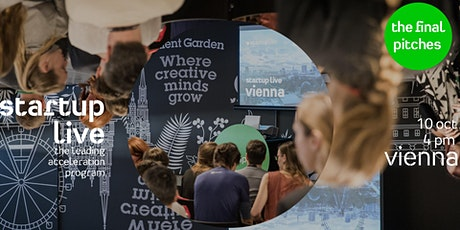 Startup Live Vienna — the final pitches Tickets