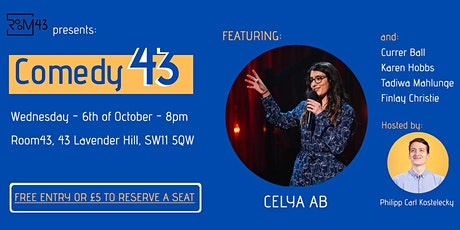 Comedy 43 - 6th of October tickets