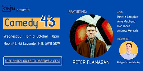 Comedy 43 - 13th of October tickets