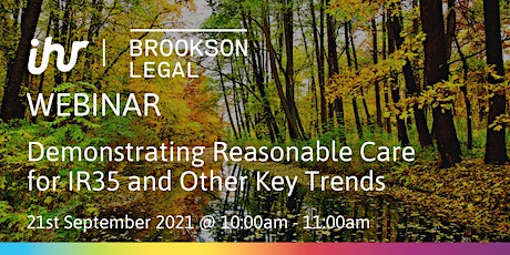Demonstrating Reasonable Care for IR35 and Other Key Trends tickets