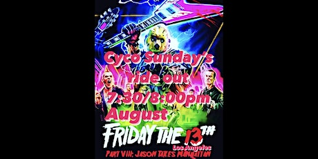 Cyco Sundays Friday the 13th Rideout tickets