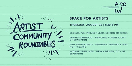 Artist Community Roundtable: Space for Artists tickets