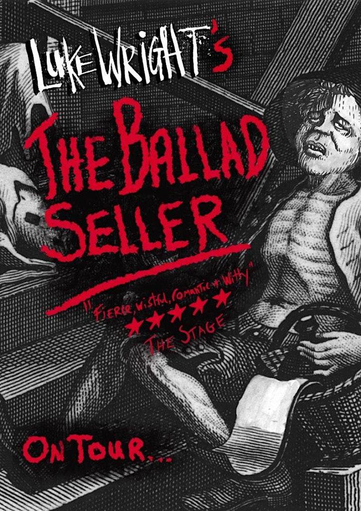The Ballad Seller by Luke Wright image