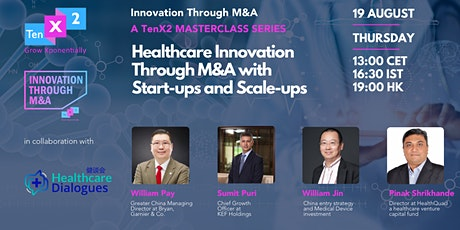 Healthcare Innovation Through M&A with Start-ups and Scale-ups tickets