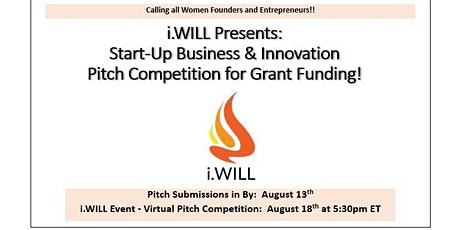 i.WILL Pitch Competition tickets