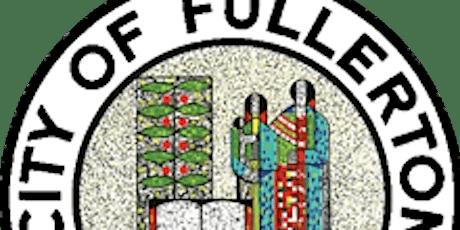 Fullerton Community Forest Management Plan Workshop #2 tickets