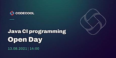 Computational Intelligence w Java - Open Day tickets