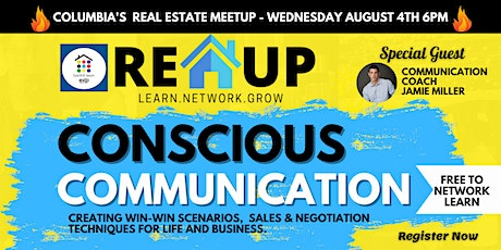 The REUP Meetup! Network and Learn! Special Topic - Conscious Communication tickets