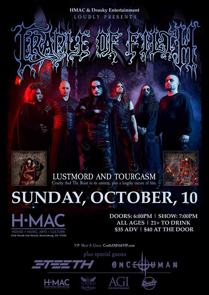 Cradle of Filth: Lustmord and Tourgasm image