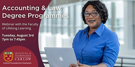 Webinar: Part-time Bachelor of Accounting & Law Programmes tickets