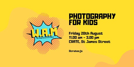 Photography For Kids tickets