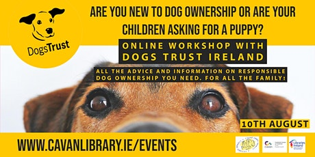 Responsible Dog Ownership with Paul from Dogs Trust Ireland tickets