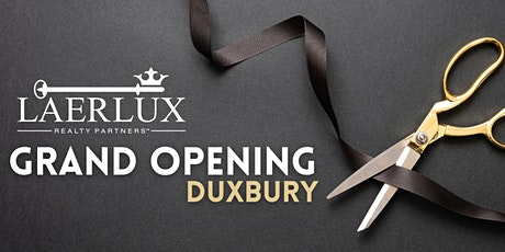 LAER LUX Duxbury Grand Opening tickets