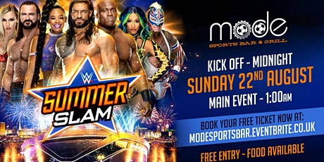 WWE Summer Slam Viewing Party tickets