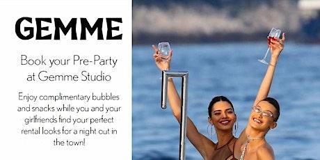 Pregame at Gemme Studio biljetter