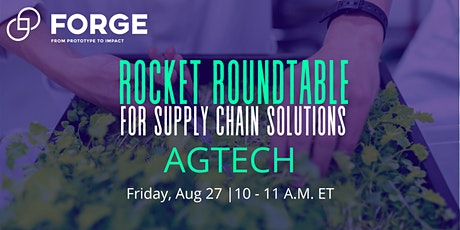 Rocket RoundTable For Supply Chain Solutions (VIRTUAL) tickets