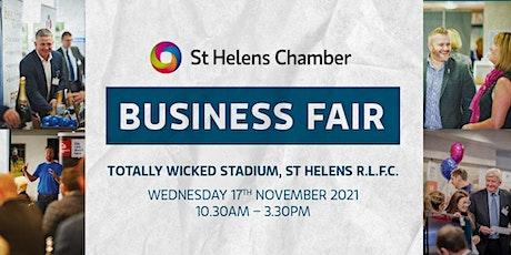 St Helens Chamber Business Fair tickets