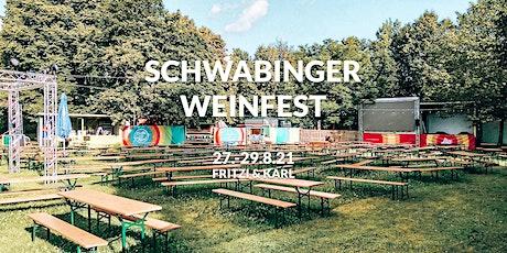 Schwabinger Weinfest 2021 Tickets