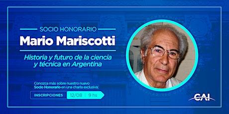 #SocioHonorario: Mario Mariscotti entradas