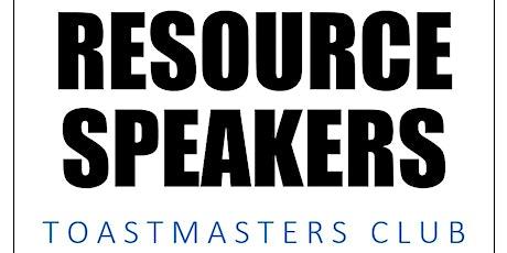 Resource Speakers @ imPAct - Public Speaking Seminar tickets
