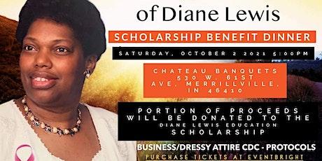 Diane Lewis Education Scholarship Benefit Dinner tickets
