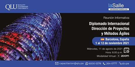 Reunión informativa - Diplomado Internacional en Dirección de Proyectos entradas
